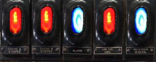 Figure 6- Driver's fault lights